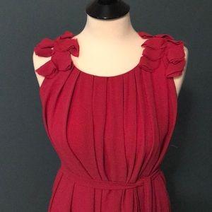Ezra Pink Pleated Dress